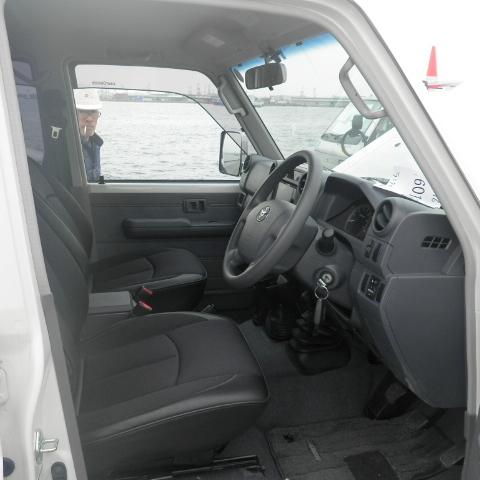 Toyota Land Cruiser 76 Series Hard Top